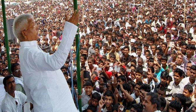 कभी गरीब रैली तो कभी लाठी रैली. अबरी हो रहा है भाजपा भगाओ देश बचाओ रैली.